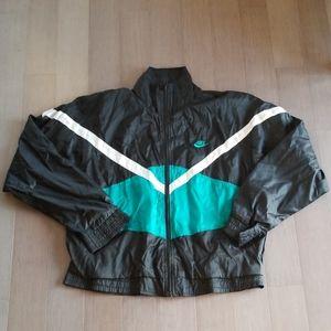 VTG gray tag nike lined jacket, sz medium